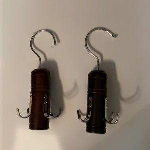 NWOT.   Scarf, belt, hangers